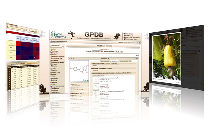 GPDB: Chemical Compound Structure Database